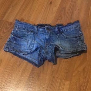 Streetwear Society Low-Rise Jean Shorts
